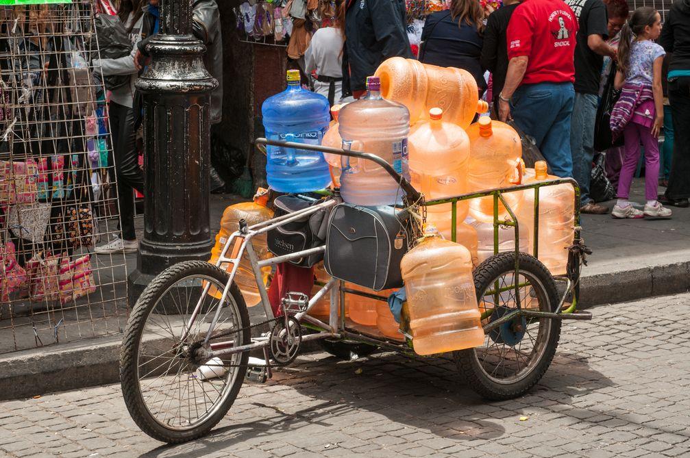 Lastenrad in Mexiko (Symbolbild)