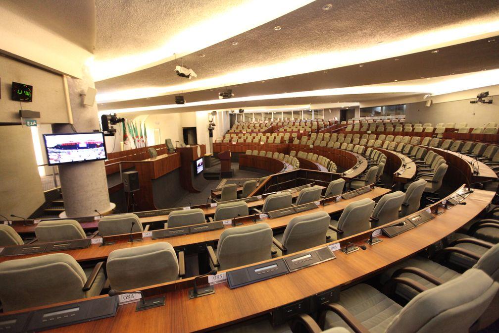 Plenarsaal der Nationalen Volksversammlung Algeriens
