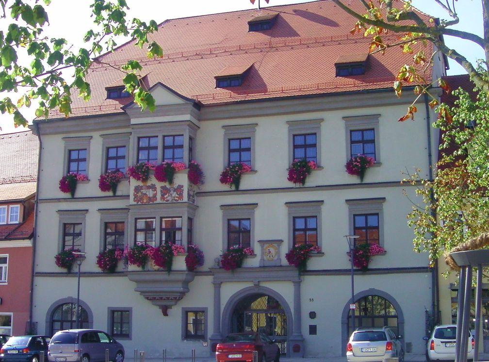 Rathaus in Tirschenreuth