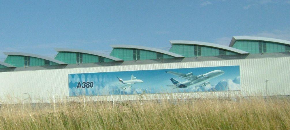 Airbuswerk in Nantes
