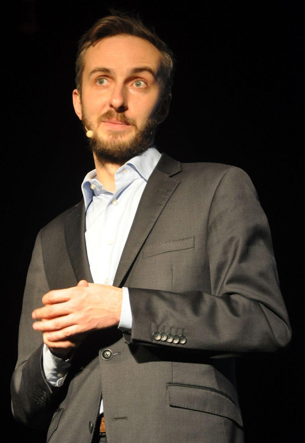Jan Böhmermann in Rostock (2014)
