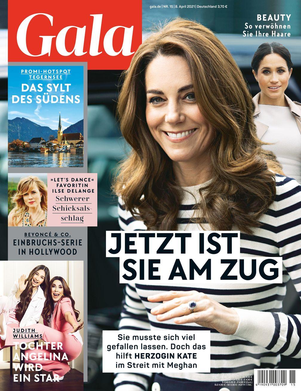 Cover GALA 15/21 (EVT: 8. April 2021) Bild: GALA, Gruner + Jahr Fotograf: Gruner+Jahr, Gala