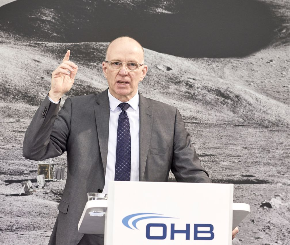 Marco Fuchs, Vorstandsvorsitzender von OHB SE Bild: OHB SE Fotograf: Stefan Gerding OHB SE