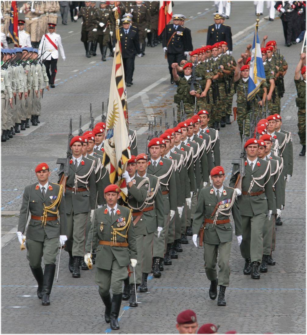Bundesheer: Garde bei einer Parade (Symbolbild)