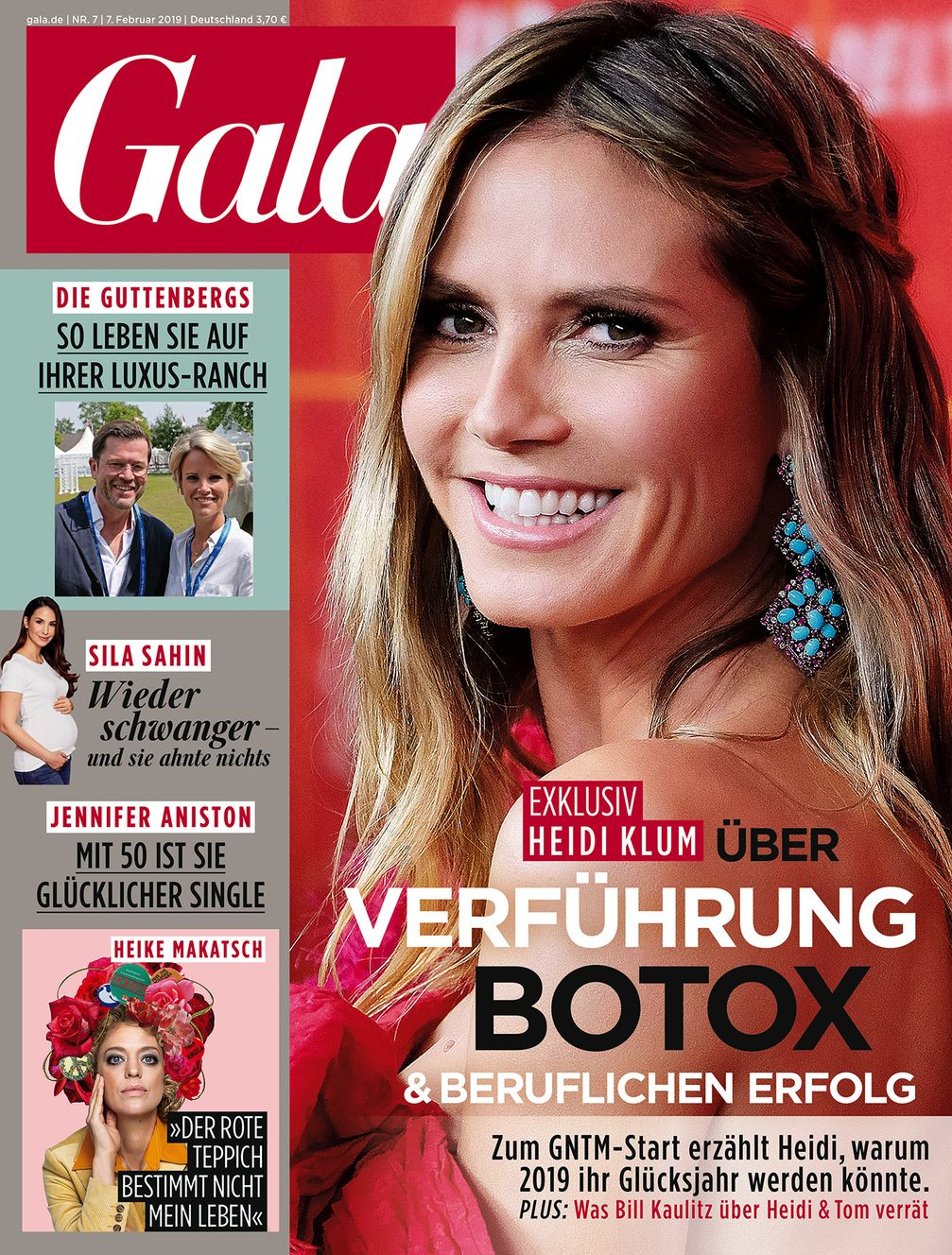 "Cover GALA 07/2019, EVT 07.02.2018. Bild: ""obs/Gruner+Jahr, Gala"""