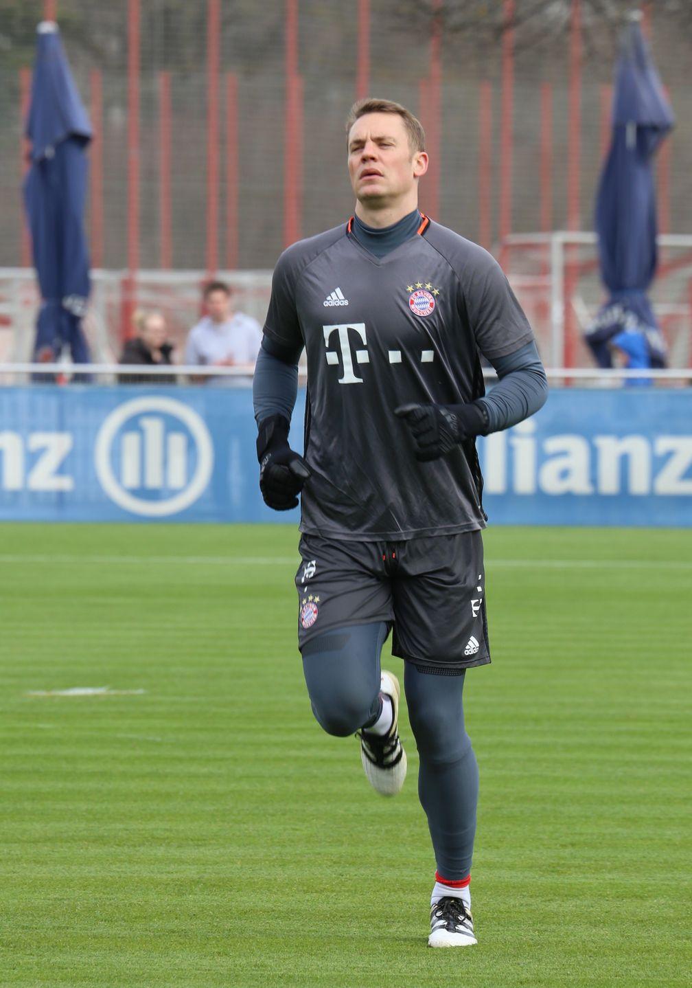Manuel Neuer Fuß