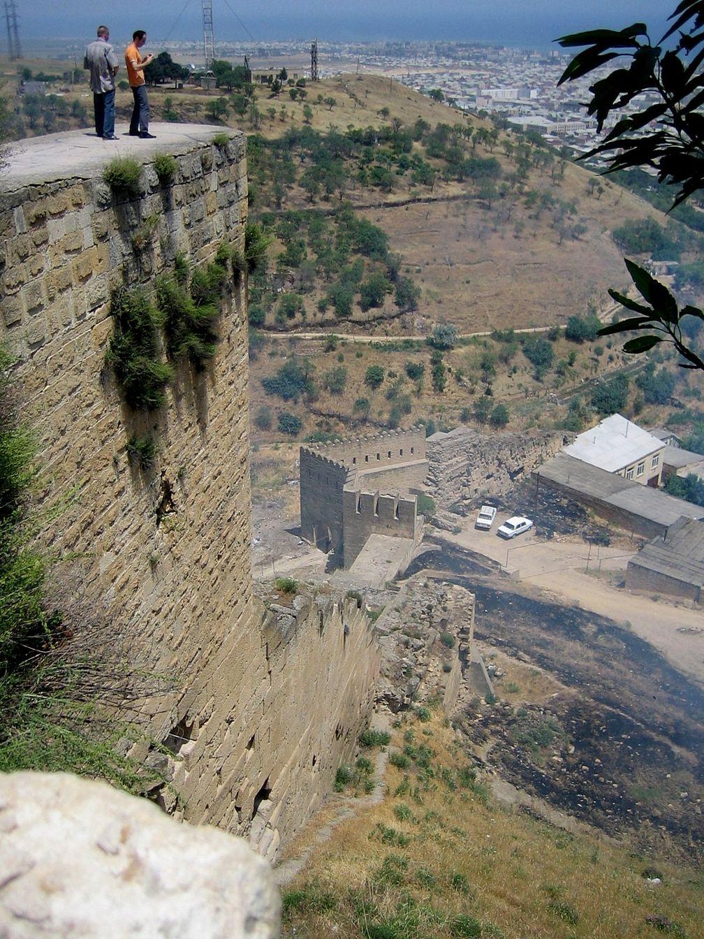 Die Festung Naryn-Kala in der russischen Föderation (2009)