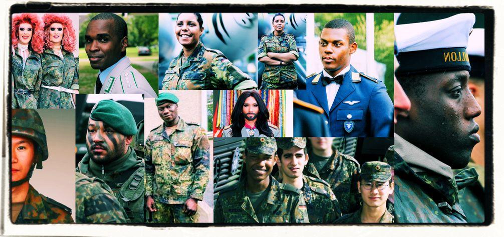 Vielfalt bei der Bundeswehr (Symbolbild)