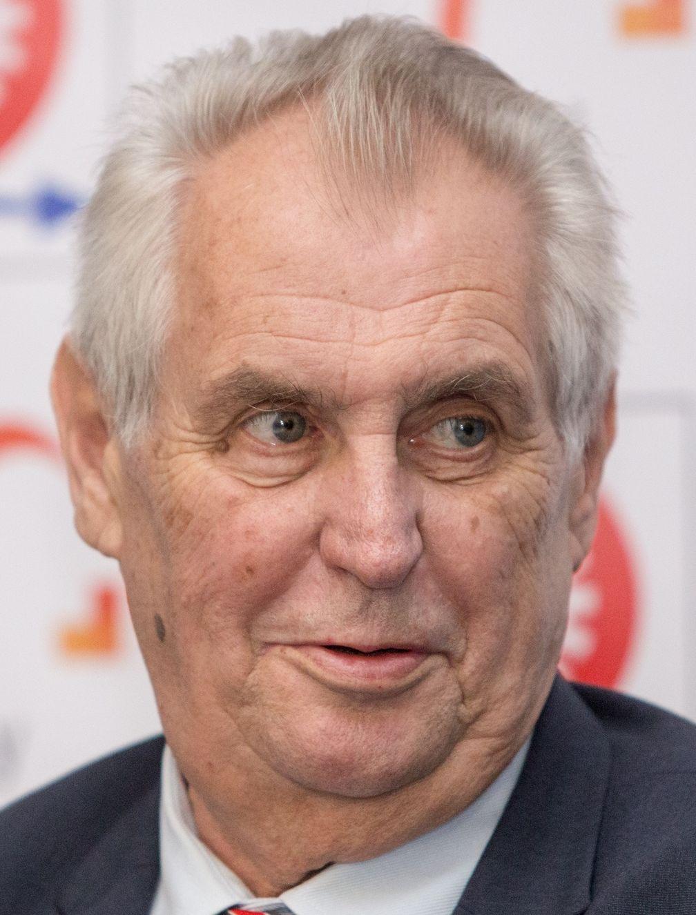Miloš Zeman (2017)
