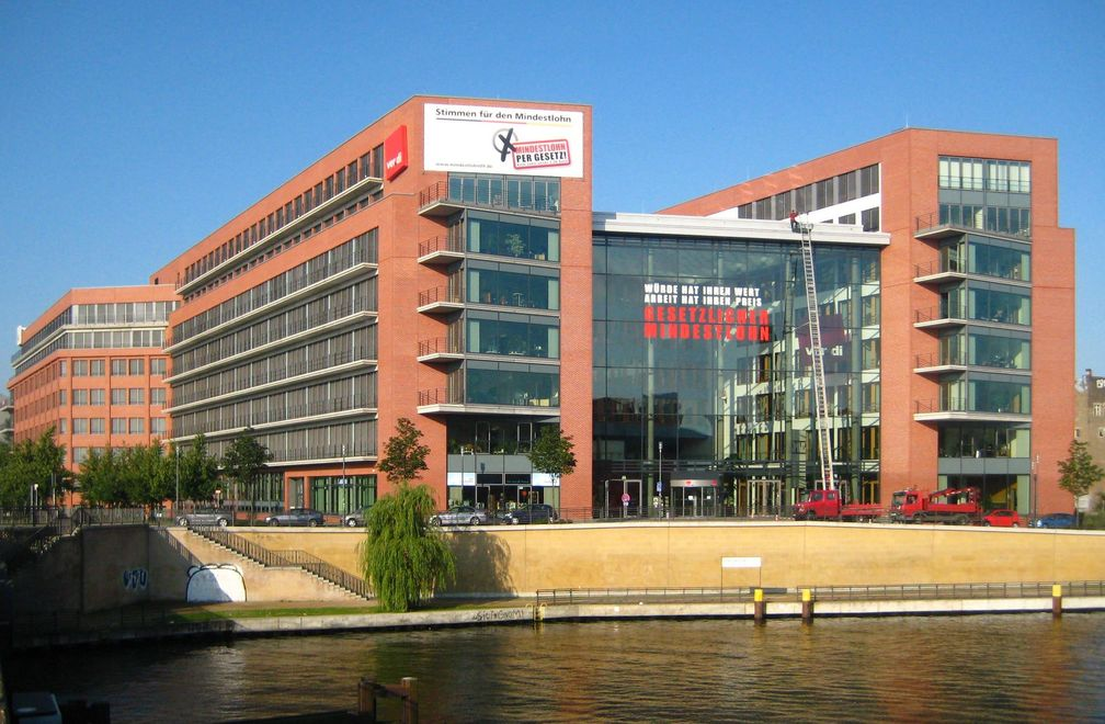 ver.di-Bundesverwaltung, Paula-Thiede-Ufer in Berlin