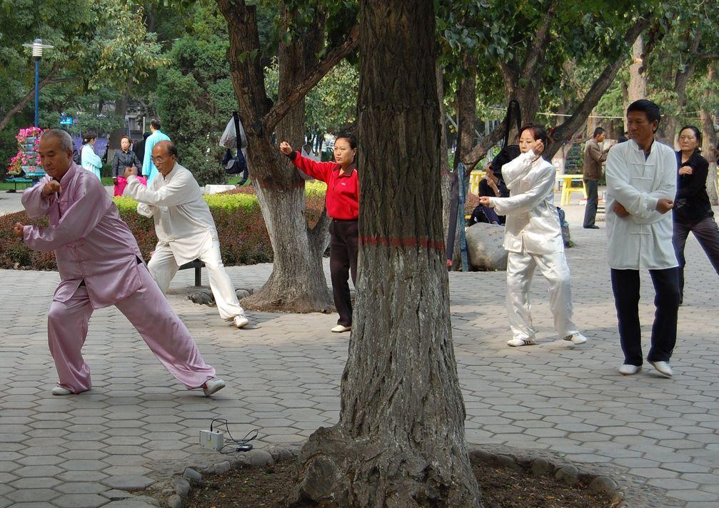 Volkssport Taijiquan in Lanzhou