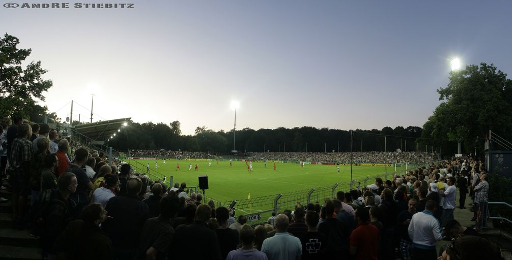 Stadtion des SV Babelsberg (2009)