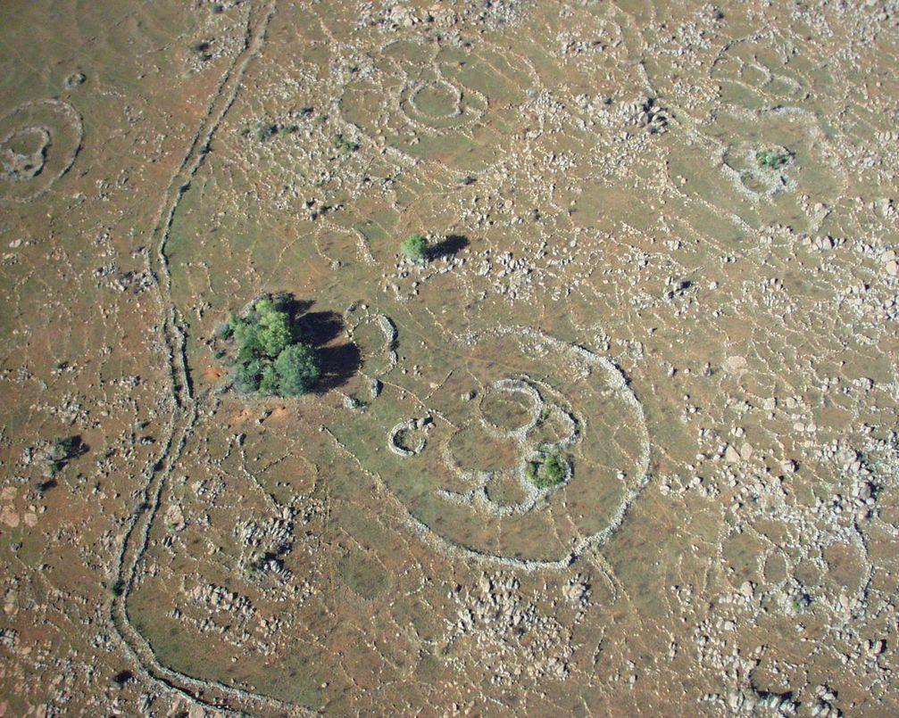 Mehr als 10 Millionen solcher unerklärlicher Ruinen in Südafrika?