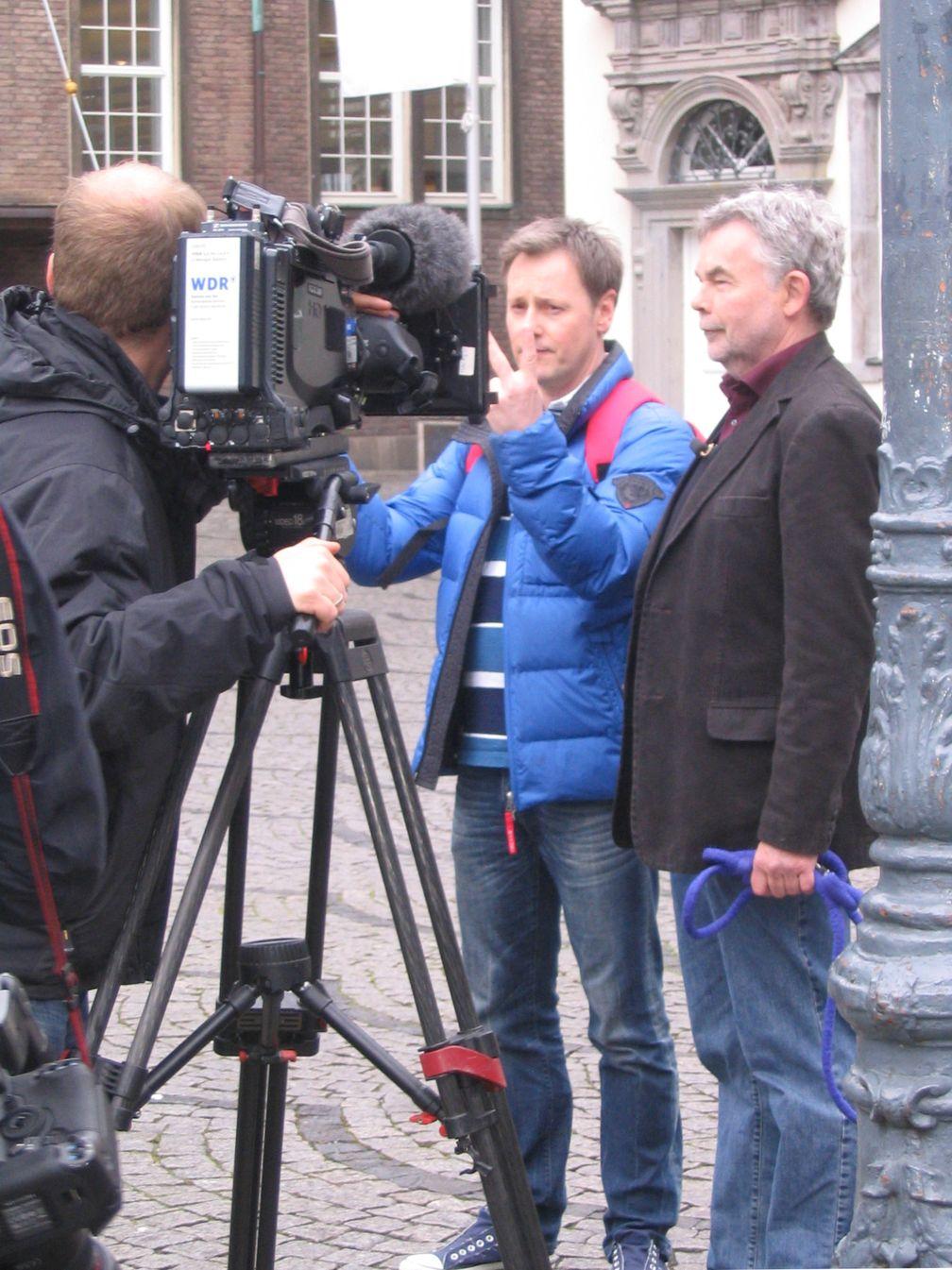 Stefan Pinnow (l.) und Manfred Breuckmann (r.) (2012)
