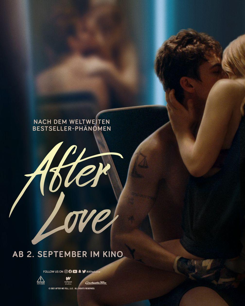 AFTER LOVE Teaserplakat  Bild: Constantin Film Fotograf: Constantin Film
