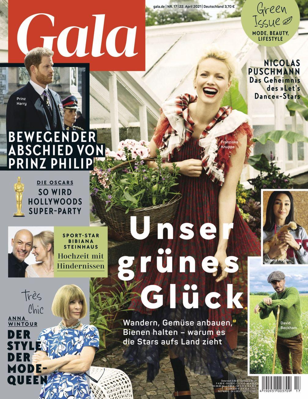 Cover_GALA 17/2021_EVT: 22.4.2021 / Bild: Gruner+Jahr, Gala Fotograf: Gruner+Jahr, Gala