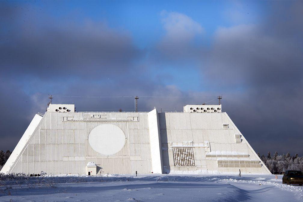 """Don-2N (""""Pill Box"""") ABM radar"""