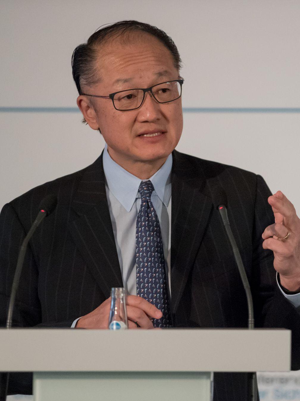 Jim Yong Kim während der 54. MSC 2018