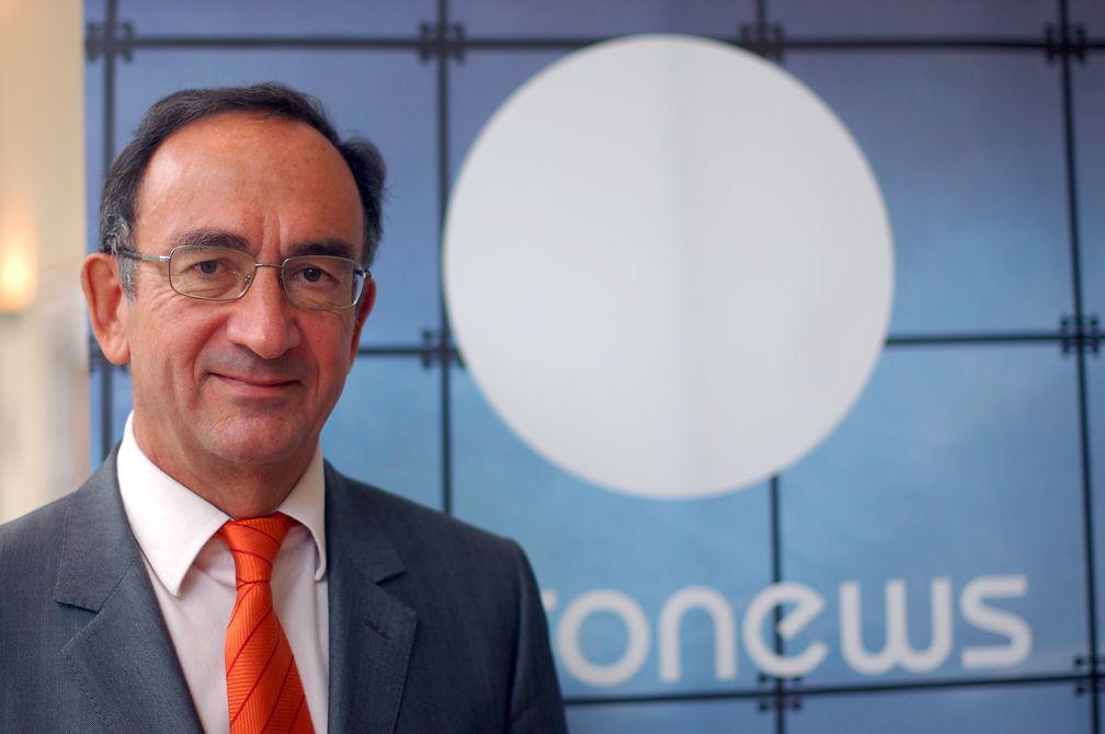 Philippe Cayla, Präsident von Euronews