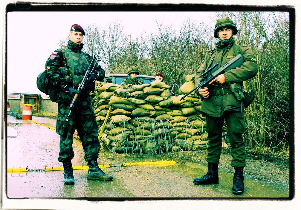 Soldaten im Inneren (Symbolbild)