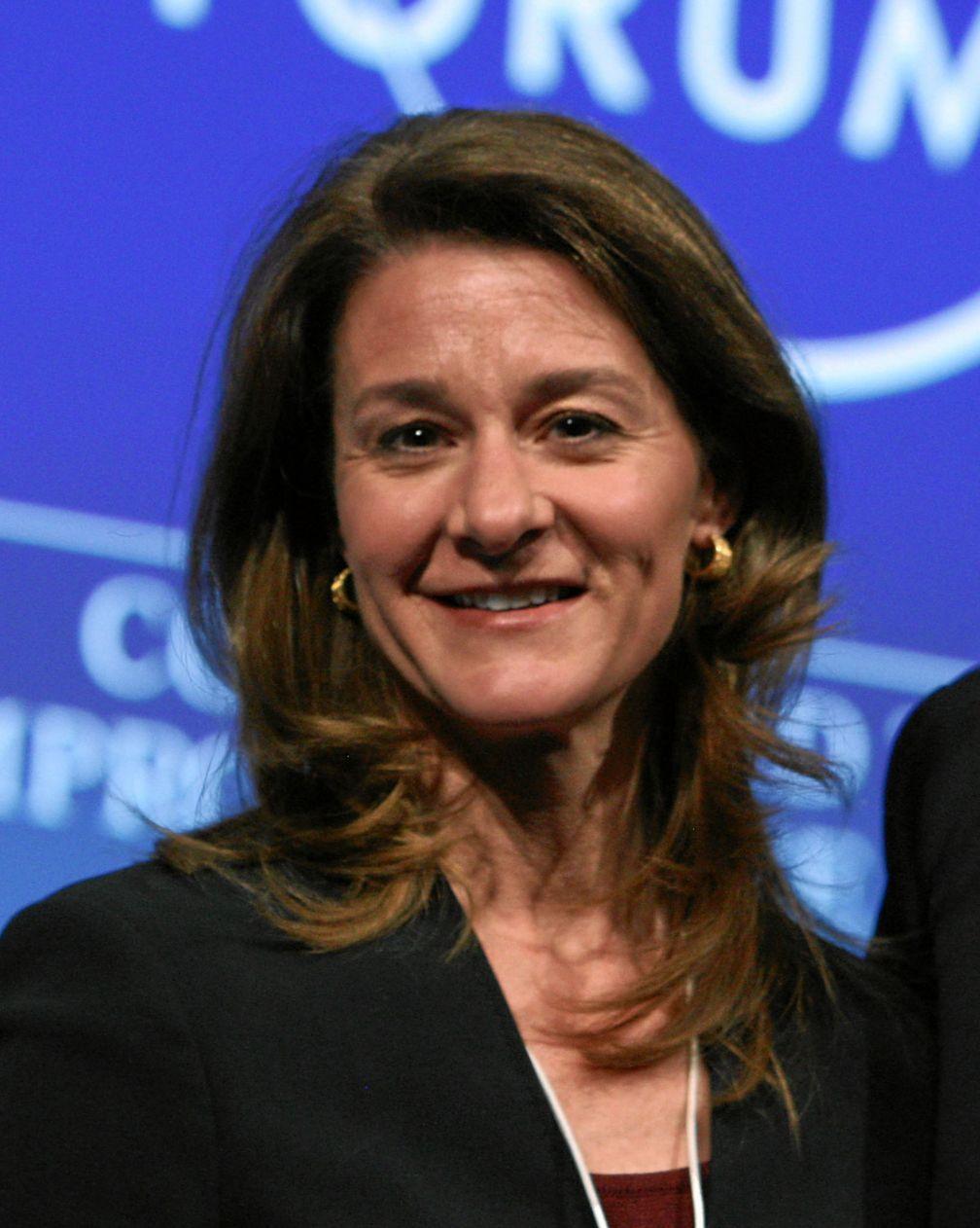 Melinda Gates 2011 in Davos