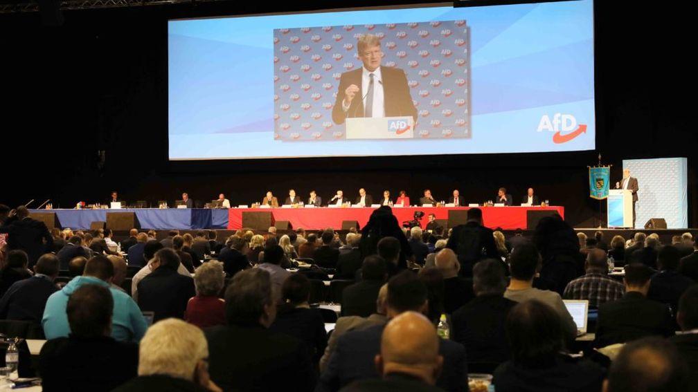 AfD-Bundessprecher Prof. Dr. Jörg Meuthen, Eröffnungsrede der Europawahlversammlung in Riesa am 11. Januar 2019