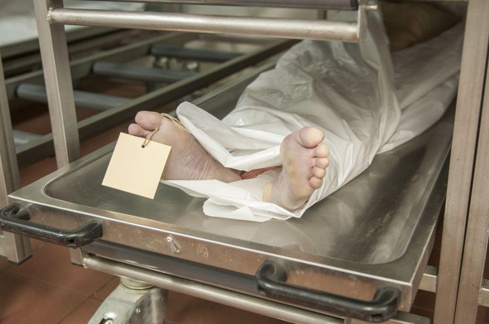 Eine Leiche (Symbolbild)