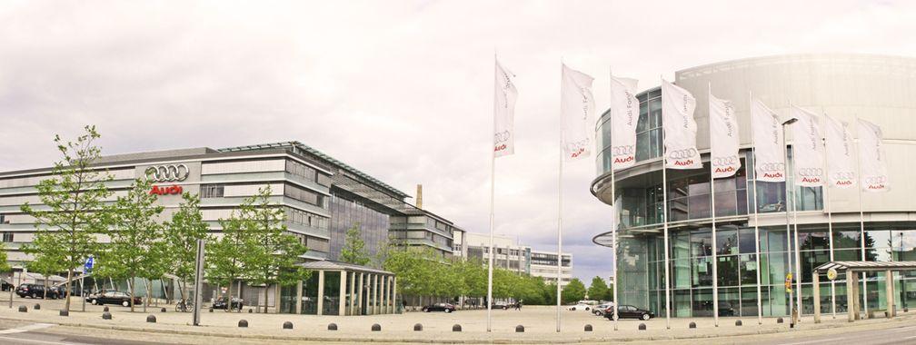Seit 1985 liegt der Hauptsitz von Audi in Ingolstadt