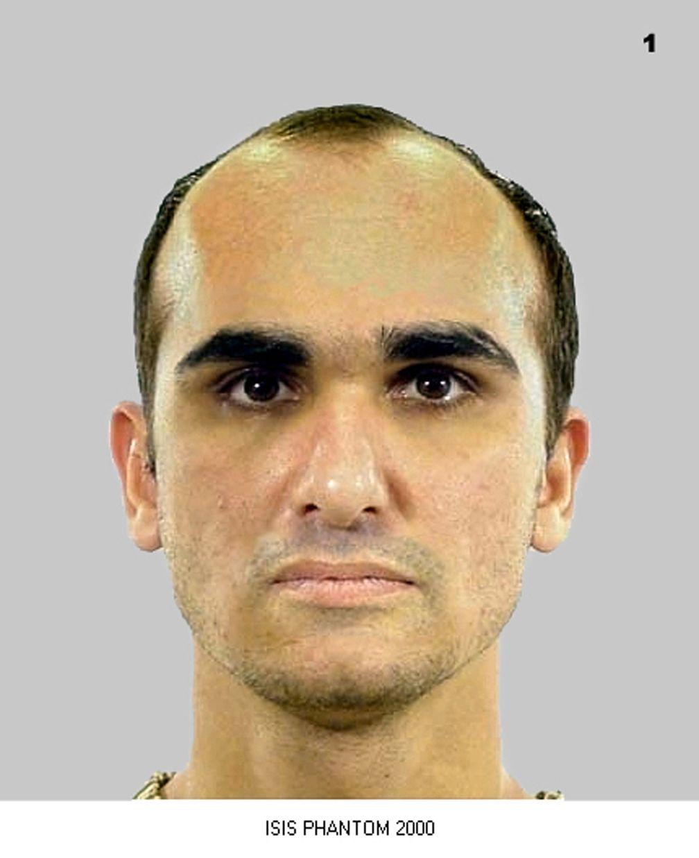 Hannibals rekonstruiertem Gesicht . © Hessisches Landeskriminalamt / ProSieben