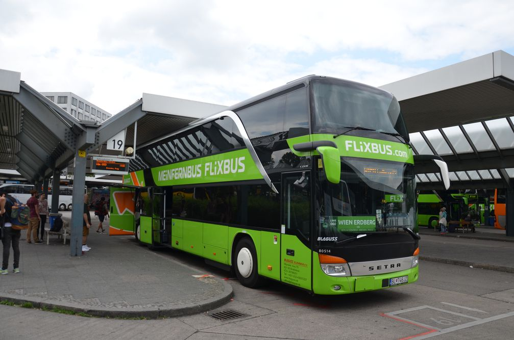 Flixbus Europe Intercity Bus