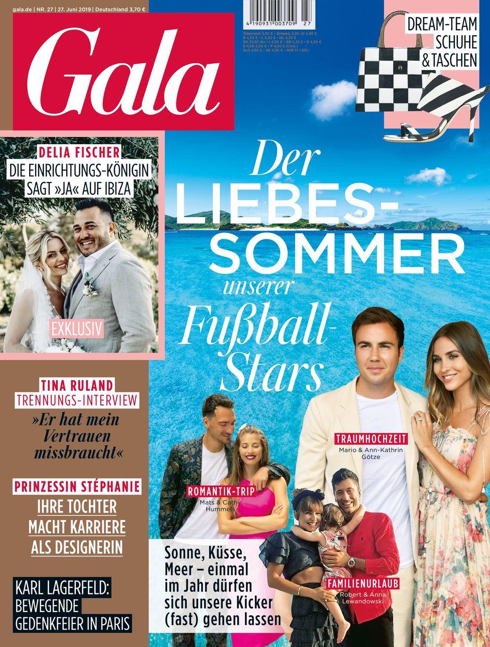 "GALA Cover 27/2019 (EVT: 27.6.2019) / Bild: ""obs/Gruner+Jahr, Gala"""