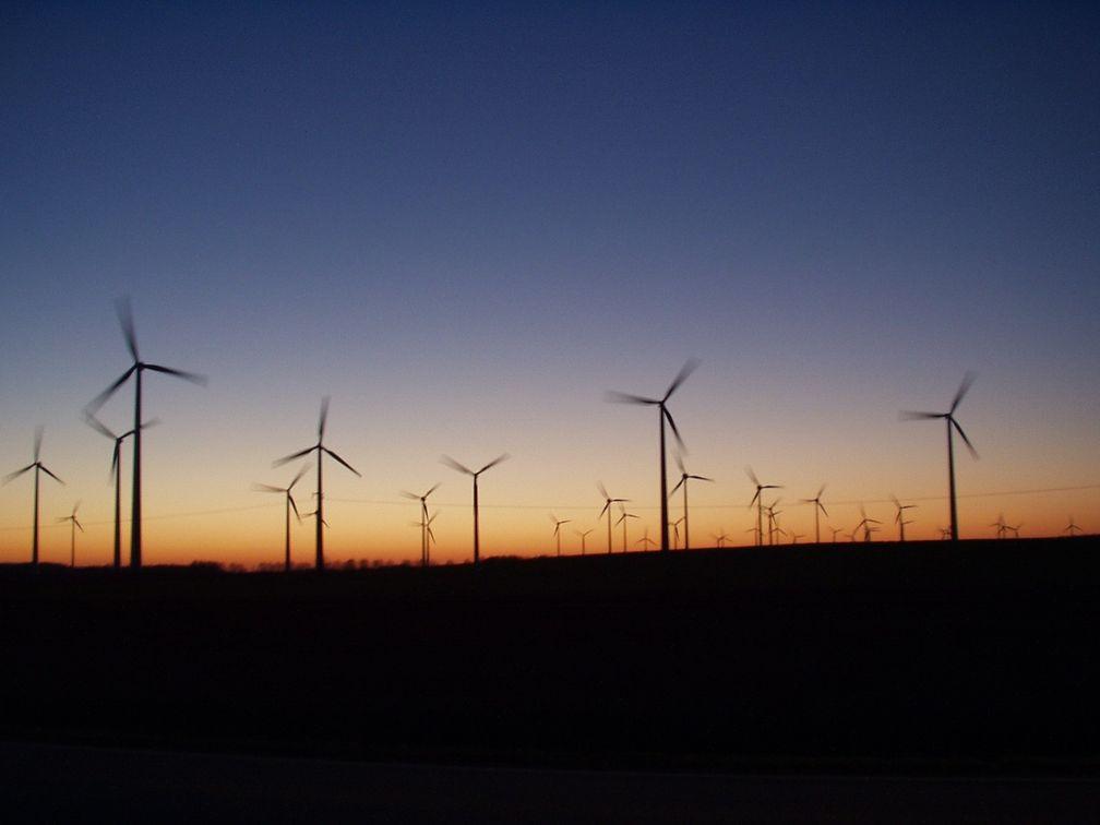 Windparklandschaft