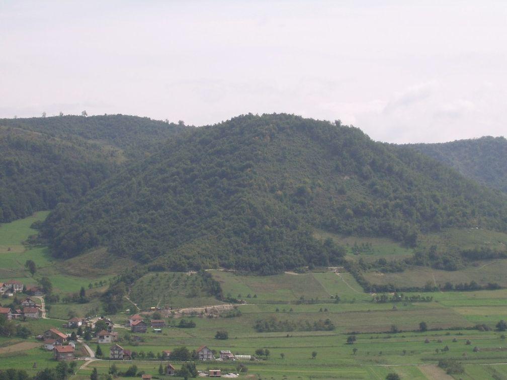 Plješevica hill in Bosnia