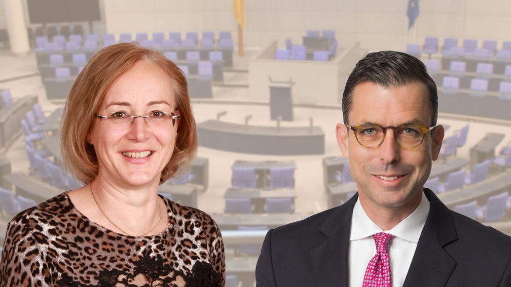 Wolle, Carola, Mdl, AfD-Landtagsfraktion Baden-Württemberg Lars Patrick Berg, MdL, AfD-Fraktion Landtag Baden-Württemberg