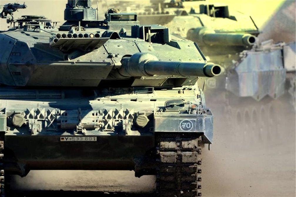 Hauptkampfpanzer Leopard 2A6: Made in Germany und nun im Einsatz im Krieg in der Türkei und Syrien (Symbolbild)