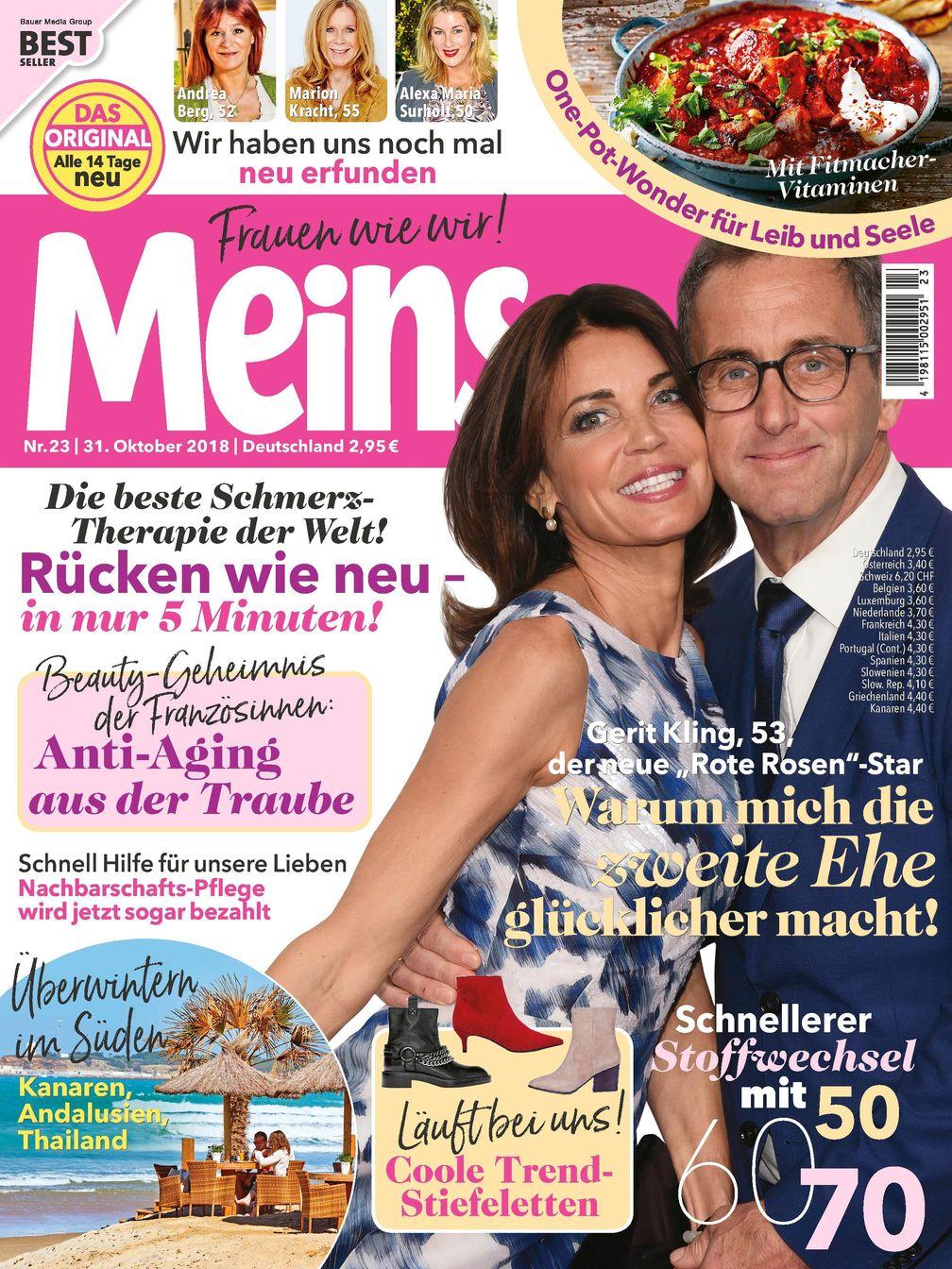 "Meins Cover /  Bild: ""obs/Bauer Media Group, Meins"""