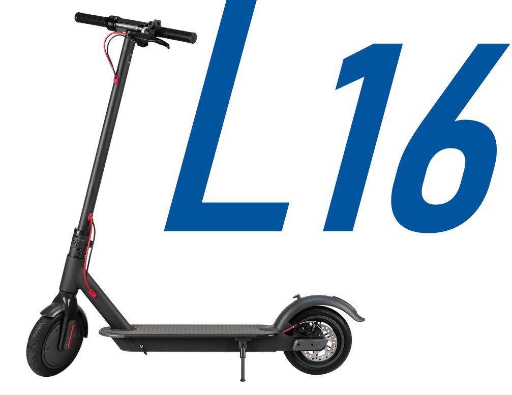 """Mili Solution Koowheel E-Scooter L 16. Bild: """"obs/real GmbH"""""""