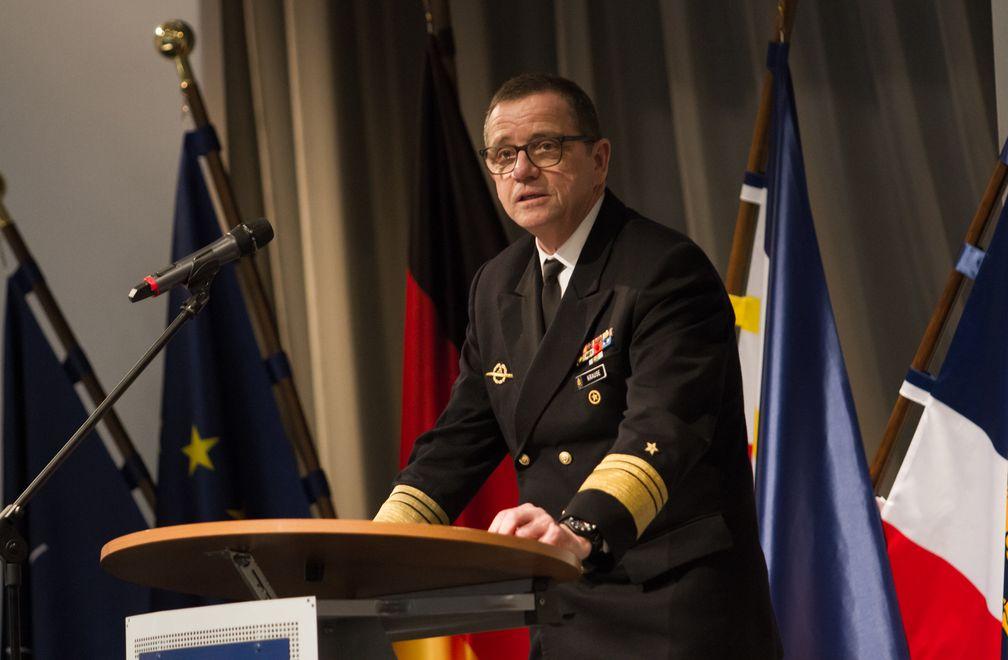 Generalinspektuer Krause hält die letzte Rede der HiTaTa 2018