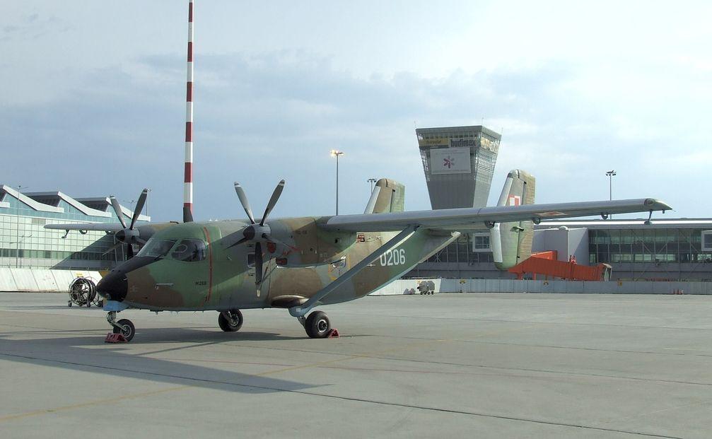 PZL M28 der polnischen Luftwaffe