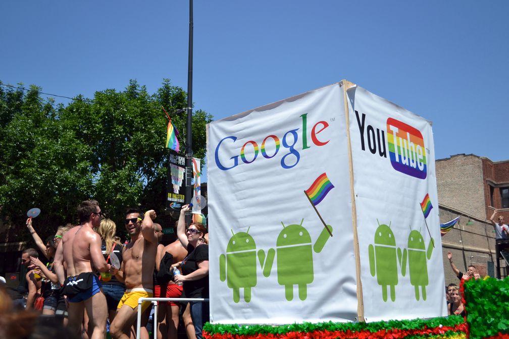 Google liebt die Schwulen (Symbolbild)