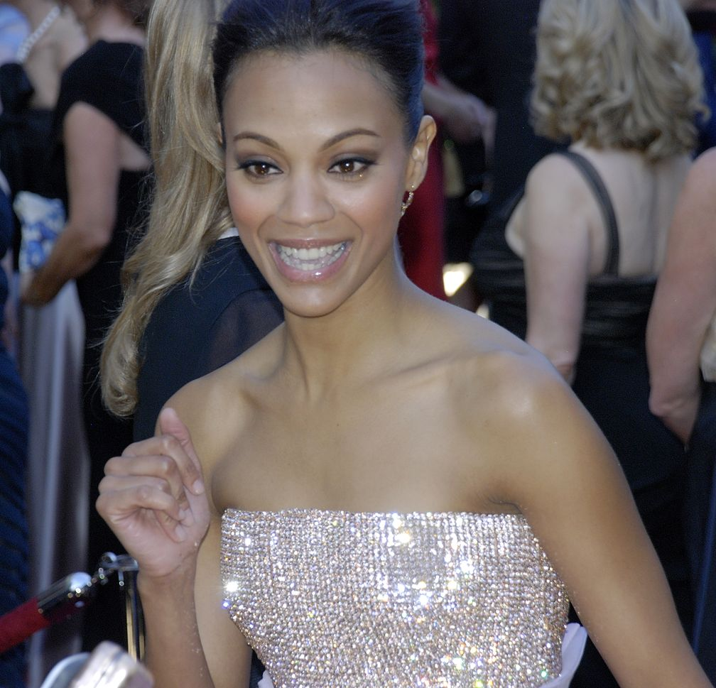 Zoë Saldaña bei der Oscarverleihung2010