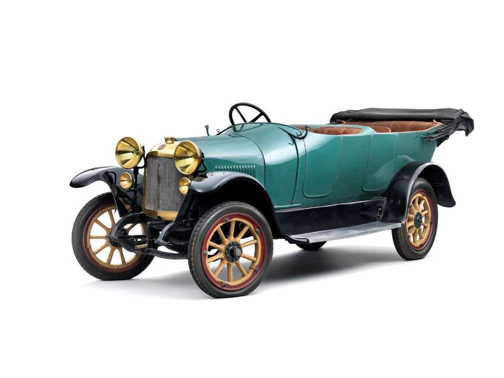 Der Motor des 1921 gebauten Laurin & Klement So/200 hatte mit 30 PS (22,1 kW) deutlich mehr Leistung als das ursprüngliche Aggregat mit 14 PS (10,3 kW). Bild: SMB Fotograf: Skoda Auto Deutschland GmbH
