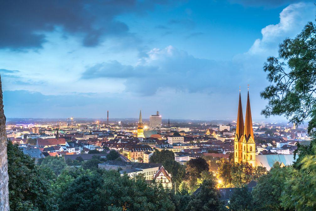 """Die 340.000-Einwohner-Stadt Bielefeld macht mit einer außergewöhnlichen Image-Kampagne weltweit von sich Reden. Bild: """"obs/Bielefeld Marketing GmbH"""""""