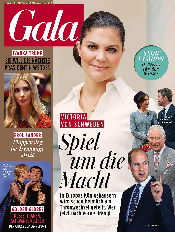 "GALA Cover 03/2018, EVT 11.01.18 / Bild: ""obs/Gruner+Jahr, Gala"""