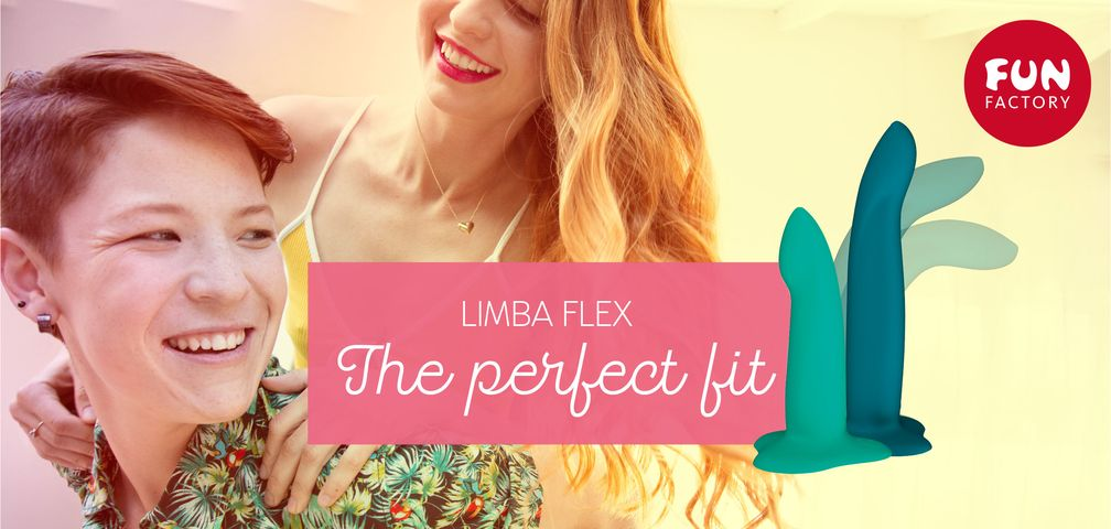 "LIMBA FLEX - The Perfect Fit.  Bild: ""obs/FUN FACTORY GmbH/Fun Factory"""