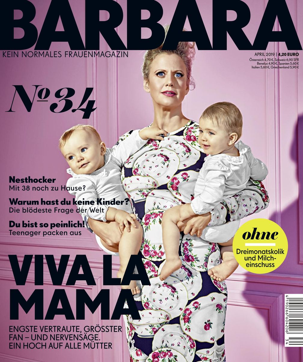 "BARBARA Nr. 34, EVT 28.02.2019. Bild: ""obs/Gruner+Jahr, BARBARA"""