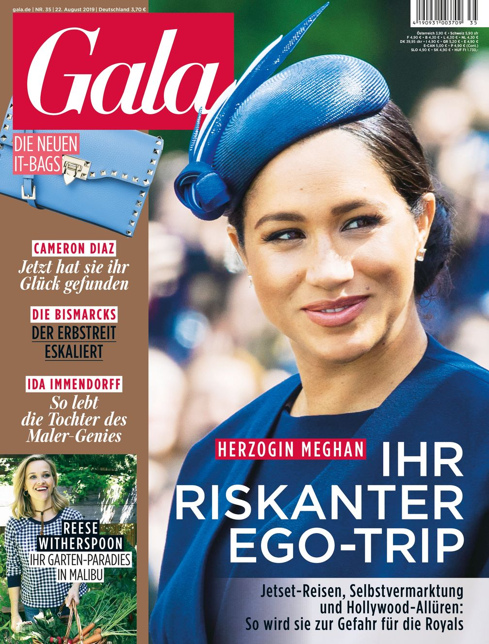 "GALA Cover 35/2019 (EVT: 22. August 2019) / Bild: ""obs/Gruner+Jahr, Gala"""