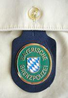 Ehemaliges Verbandsabzeichen der Bayerische Grenzpolizei (GrePo), hier als Brusttaschenanhänger