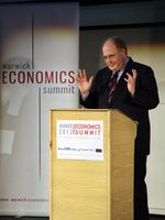 Adam Posen addresses Warwick Economics Summit 2012