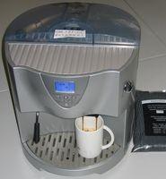 Kaffeevollautomat wie er im Heimgebrauch eingesetzt wird